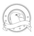american eagle symbol vector image vector image