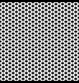 black white seamless pattern mesh lattice vector image vector image