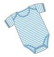 clothes for newborn boy or girl vector image