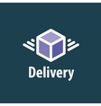 Delivery Logo Template vector image vector image