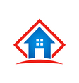 home architecture icon building logo vector image