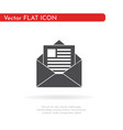 letter icon for web business finance and vector image