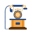 Telephones icon vector image