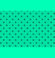 turquoise abstract seamless geometric pattern vector image vector image