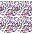 vintage baroque seamless pattern with swirls