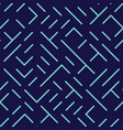 diagonal lines and shapes seamless pattern vector image vector image