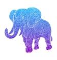 Elephant ornament ethnic vector image vector image