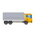 freight car single icon in cartoon style for vector image vector image
