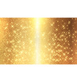golden foil background template for cards vector image vector image