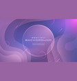 gradient fluid blue pink soft color abstract vector image