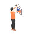 isometric renovation icon vector image