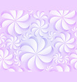 seamless gentle texture with paper flowers vector image