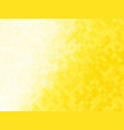 abstract yellow tiled background vector image vector image