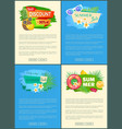 best discount 30 percent summer sale set posters vector image vector image