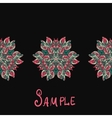 Ethnic paisley ornament Abstract background with vector image vector image
