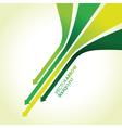 green arrow strips vector image vector image