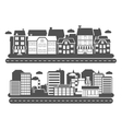 Landscape City Banner vector image