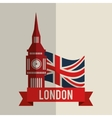 london icon design vector image vector image
