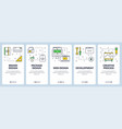 modern thin line brand design concept web vector image vector image