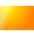 Shiny abstract orange background vector image