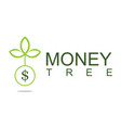 tree money logo vector image