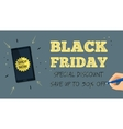 Web banner for Black Friday sale