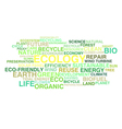 Ecology and sustainable development vector image