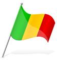 flag of Mali vector image