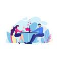 girlfriend cheers glass drink wine vector image vector image