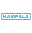 Kampala Rubber Stamp vector image vector image