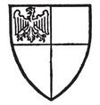 phelip lord bardolf coronation of edward i in vector image vector image
