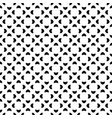 seamless pattern black white figures vector image vector image