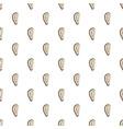 seashell pattern seamless vector image vector image