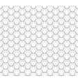 3d like honeycomb white texture vector image vector image