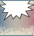 abstract creative concept comic pop art vector image vector image