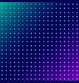 abstract dots glowing radial pattern on blue vector image