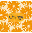 background with orange vector image