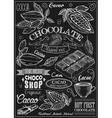 Cacao Icon Set vector image vector image
