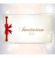 invitation card vector image vector image