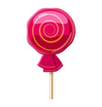 lollipop icon cartoon style vector image vector image