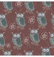 owl patterns vector image