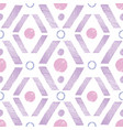 purple pink rhombus painted repeat pattern design vector image