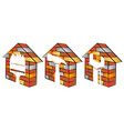 repair house symbol vector image