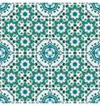 seamless geometric mandala pattern vector image vector image