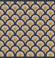shades of pattern with drops seamless pattern vector image