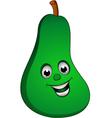 avocado smile vector image vector image