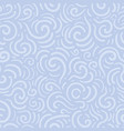 blue pattern with swirl vector image vector image