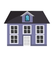 colorful house and windows graphic vector image vector image