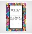 Graphic design template document with hand drawn