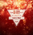 Merry sparkling christmas vector | Price: 1 Credit (USD $1)